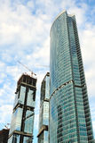 Construction of skyscrapers Royalty Free Stock Images