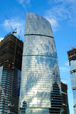 Construction of skyscrapers Stock Image