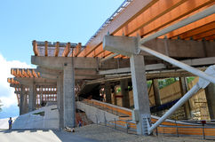 Construction of  Stock Photo