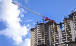 Construction of social housing Stock Photo