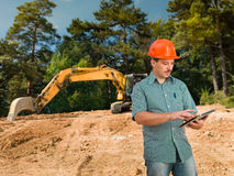 Construction specialist Royalty Free Stock Photos