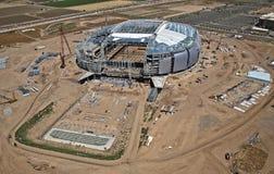 Construction of Stadium Royalty Free Stock Photos