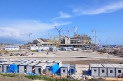 Construction of the stadium Fisht Royalty Free Stock Photos