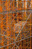 Construction stand - working on Sagrada familia Stock Photography