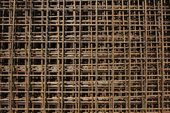 Construction steel bars Royalty Free Stock Photos