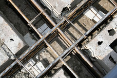 Construction steel bars Royalty Free Stock Photo