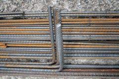 Construction steel bars Stock Photo