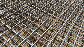 Construction steel bars Stock Photo