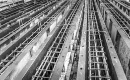 Construction steel in the box. Prepared for rainforced concrete works Stock Photo