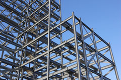 Construction Steel Framework Royalty Free Stock Photo