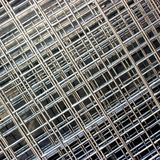 Construction steel mesh. Pile of Construction steel mesh, barriers or reinforcement Royalty Free Stock Images