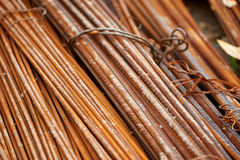 Construction steel. Reinforcement Royalty Free Stock Image