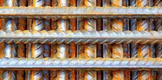 Construction steel reinforcement Royalty Free Stock Photos