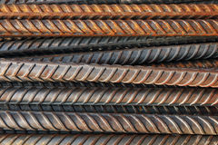 construction steel rod for pattern and background Royalty Free Stock Photos