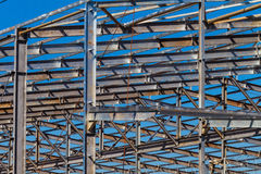 Construction Steel Warehouse Stock Photos