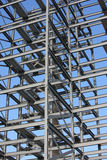 Construction Steelwork Stock Photo