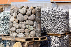Construction stone Stock Image
