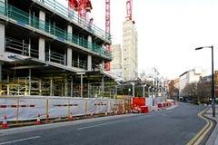 Construction street Royalty Free Stock Photography