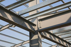 Construction Structural Steel Royalty Free Stock Photography