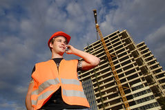 Construction supervisor Royalty Free Stock Photography