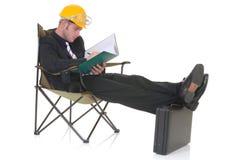 Construction supervisor Stock Image