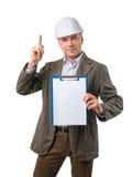 Construction Supervisor Happy Royalty Free Stock Photos