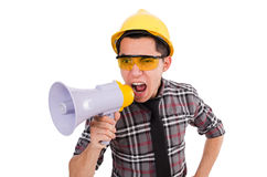 Construction supervisor Stock Photo