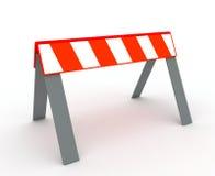 Construction sur la route Photographie stock libre de droits