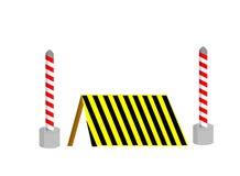 Construction sur la route Images stock