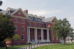 Construction sur le campus d'université Images libres de droits