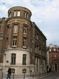 Construction sur un coin - Paris Image libre de droits