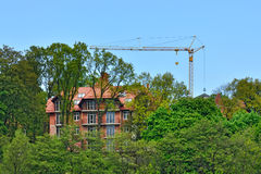 Construction. Svetlogorsk (Rauschen). Kaliningrad region, Russia Royalty Free Stock Photography