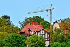 Construction. Svetlogorsk (Rauschen). Kaliningrad region, Russia Stock Images