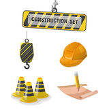 Construction Symbol Icon Object Set A Vector Stock Photos