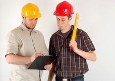 Construction team Royalty Free Stock Photos