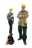 Construction team Royalty Free Stock Photos