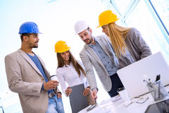 Construction team Stock Photos