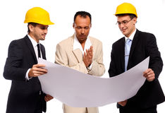 Construction team Stock Photography
