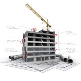 Construction technicalities Royalty Free Stock Photography