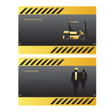 Construction template Royalty Free Stock Photo