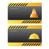 Construction template Stock Images