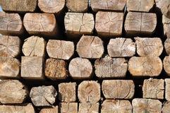 Construction timber Stock Photo