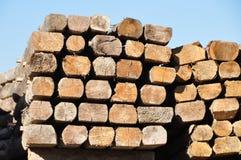 Construction timber Royalty Free Stock Photos