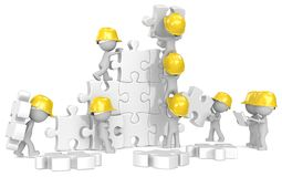 Construction time. Royalty Free Stock Images