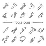 Construction tool icon collection - vector illustration Stock Photography