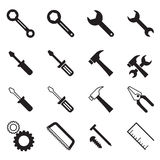 Construction tool icons collection Vector illustration Symbol Stock Photography