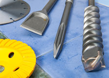 Construction tool. industrial still life Royalty Free Stock Photos