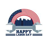 Construction tool to celebrate labor day. Vector illustration Stock Photo