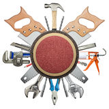 Construction tools stock image