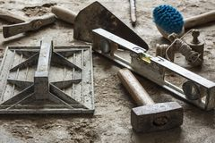 Construction tools Royalty Free Stock Photography